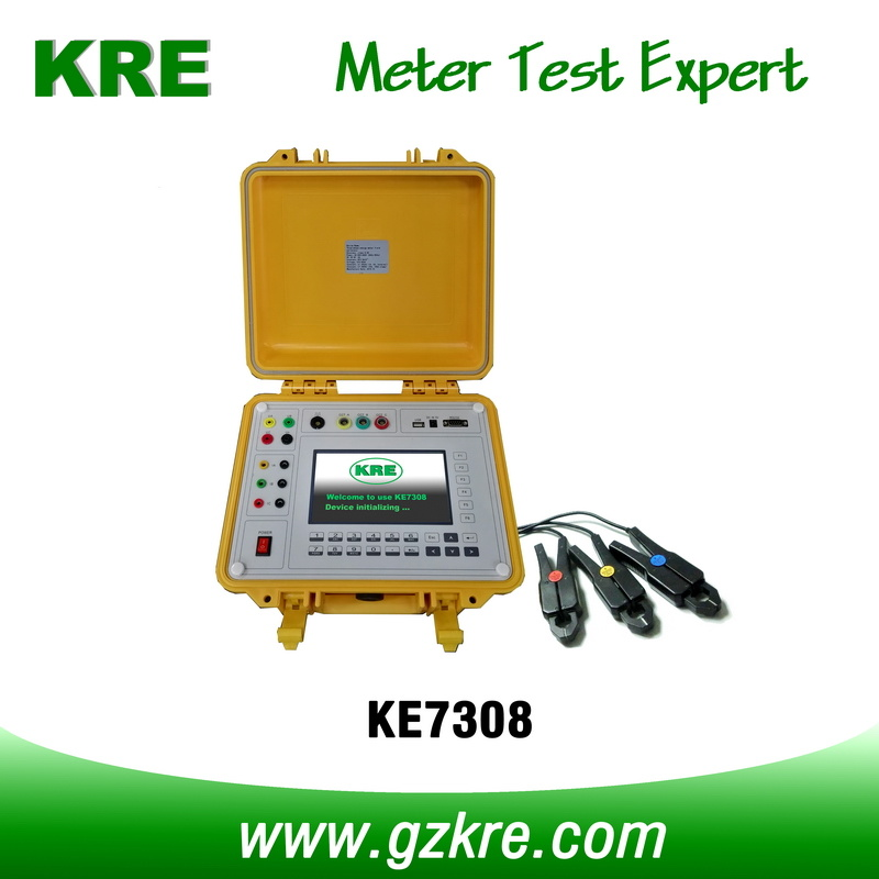 Class 0.05 Portable Three Phase Reference Standard Meter with Terminal & Clamp CT Current Input