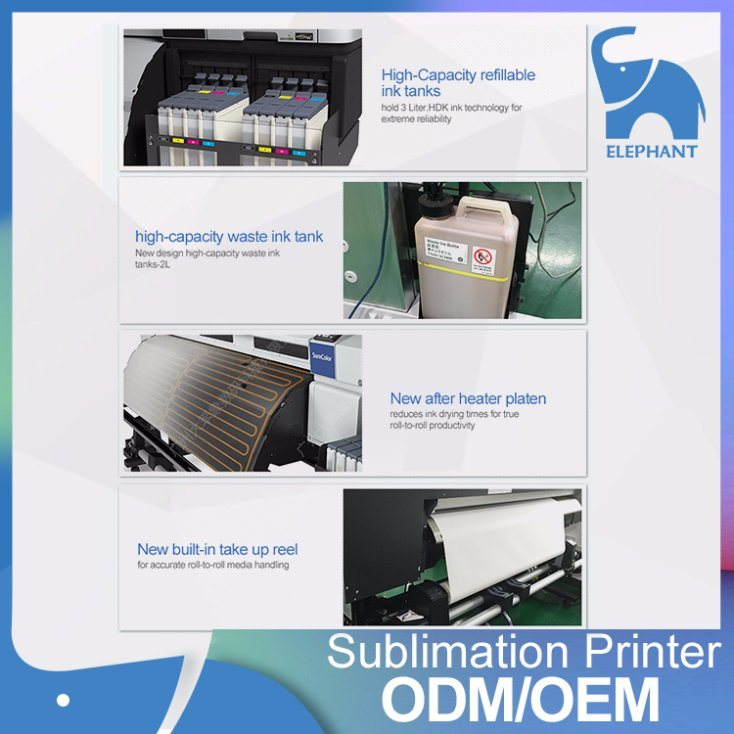 Double Tfp Printhead F9280 Sublimation Textile Printer 64inch