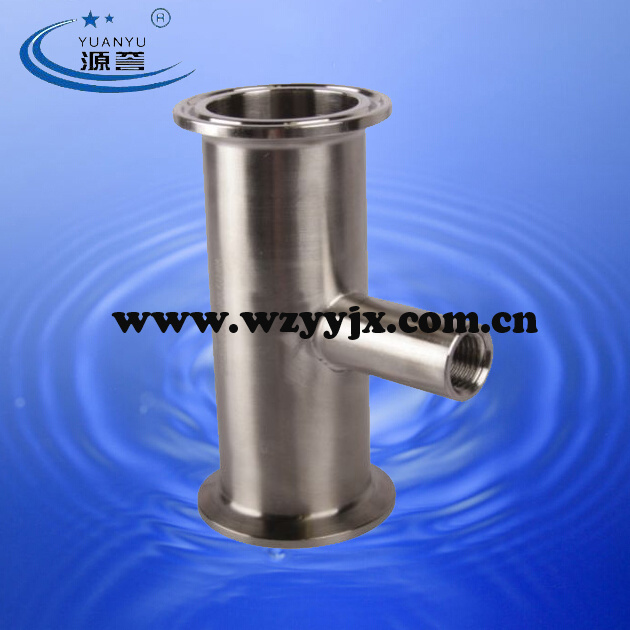 Extractor Parts--Triclamp Spool with Adapter
