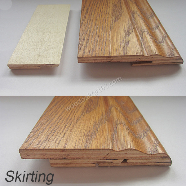 Multilayer Wood Moulding Clip Skirting Board