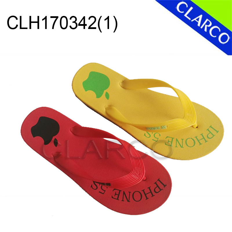Unisex EVA Sole with PVC Thongs Flip Flop