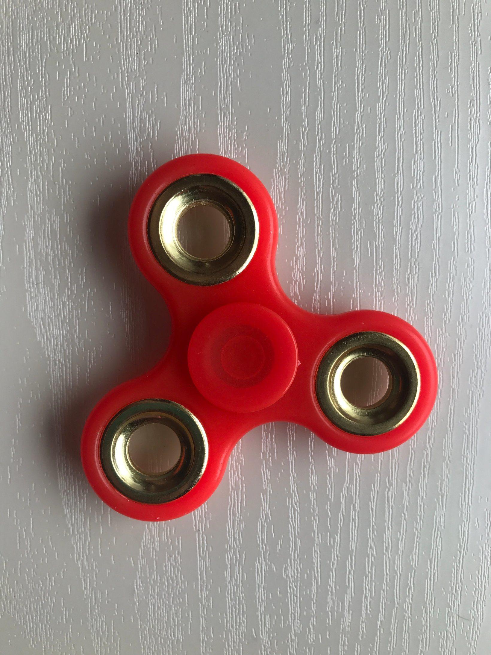 Good Quality Smooth Luminous Finger Hand Spinner Fidget Toys