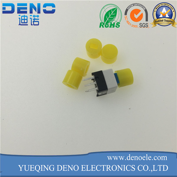 Hot Selling Three Pin Self Locking Switch Push Switch