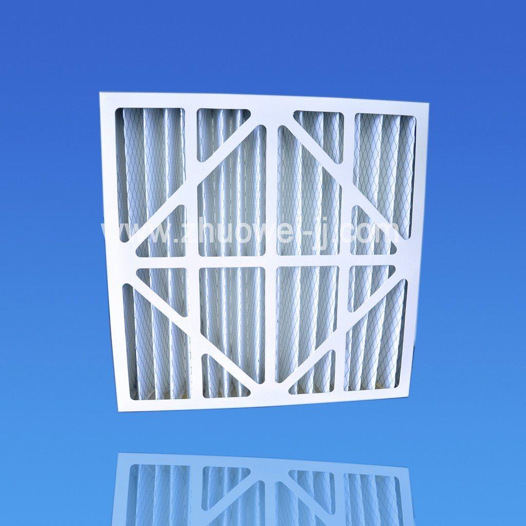 Machinery Cardboard Pleated Merv13 Primary Ventilation Filter