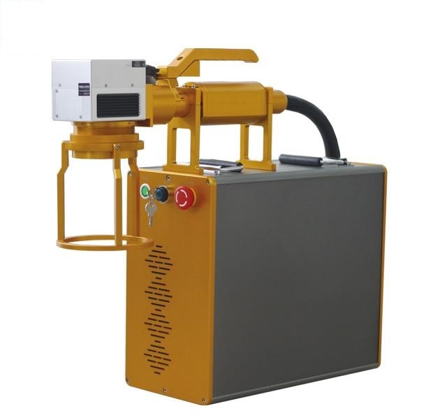 Handheld Laser Marking Machinery for Big Size Workpiece