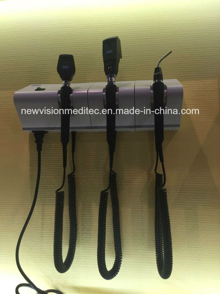 Wall Mount Ophthalmoscope an Retinoscope Diagnostic Set