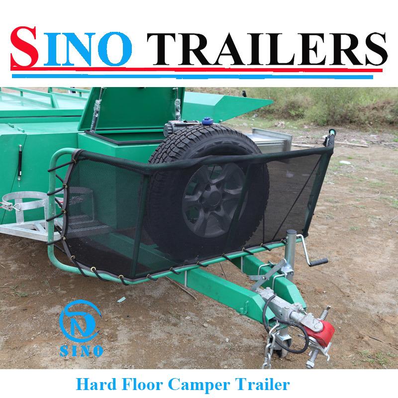 Australian High Quality Rear Open Powder Coating Camper Trailer