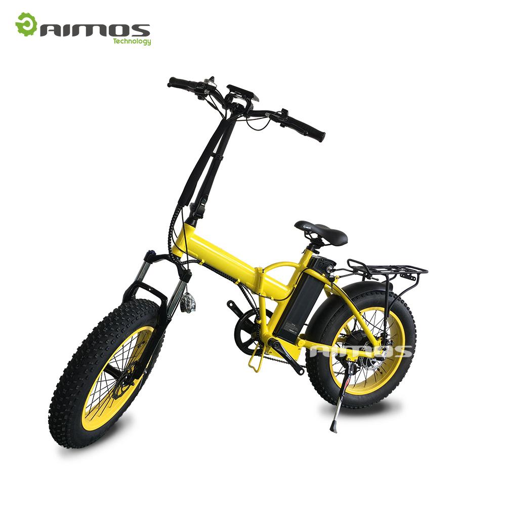 """20"""" Fat Tire Folded Electric Bike with 250W - 750W Motor"""