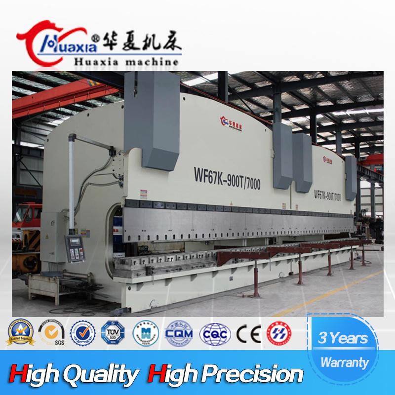 Large Tandem Press Brake, Hydraulic Bending Machine with CNC Controller