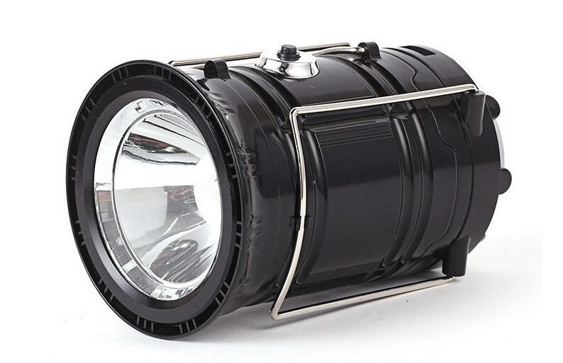 LED Solar Rechargeable Camping Light