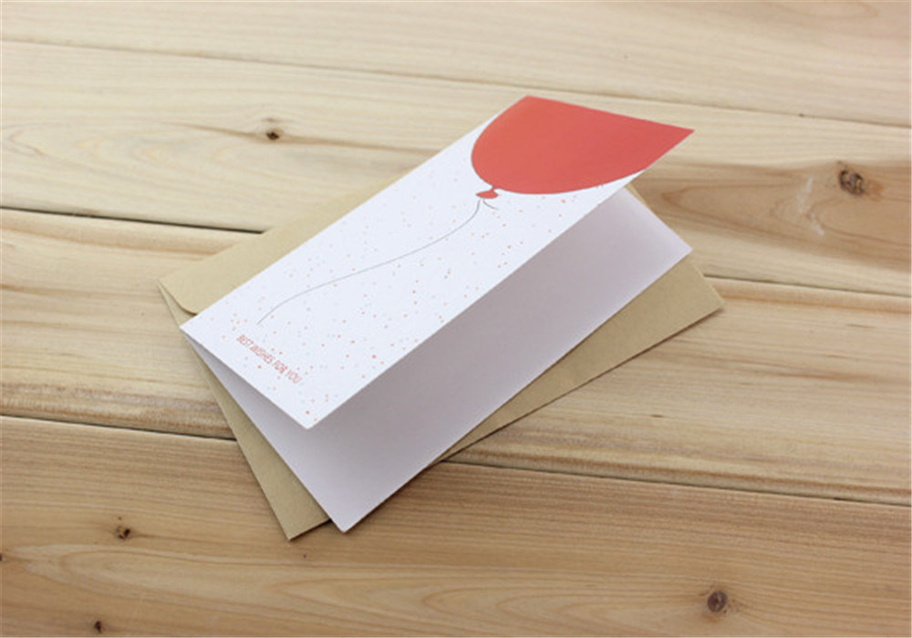 Custom Greeting Card with Envelope Paper Invitation Cards Printing