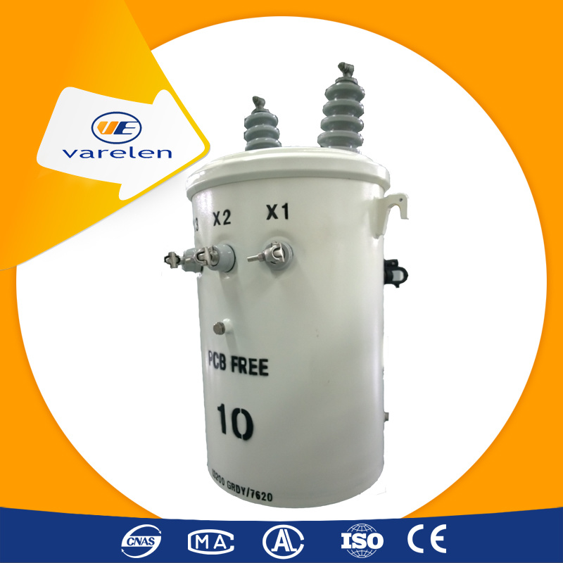 High Quality Single Phase Pole Mounted Transformer