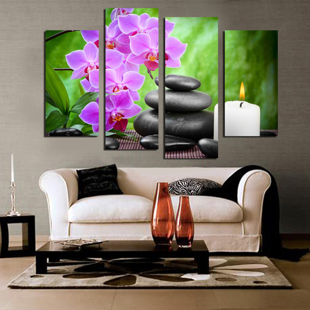 Framed Canvas Print Canvas Painting Home Decoration Poster Wall Pictures Living Room