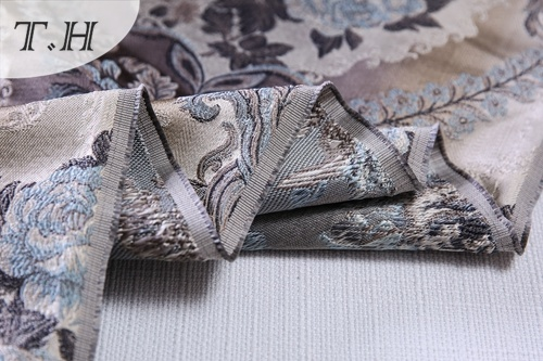 2017 100% Polyester Furniture Upholstery Jacquard Fabrics (FTH32108)