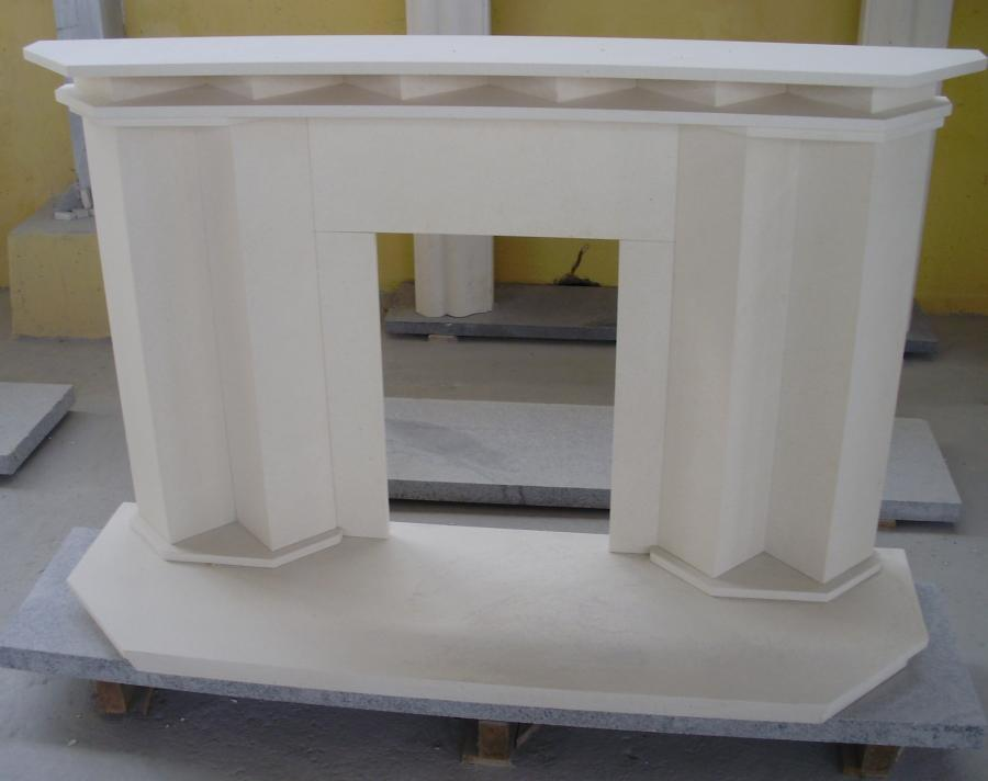 Stone Marble Fireplace Surround for Mantel