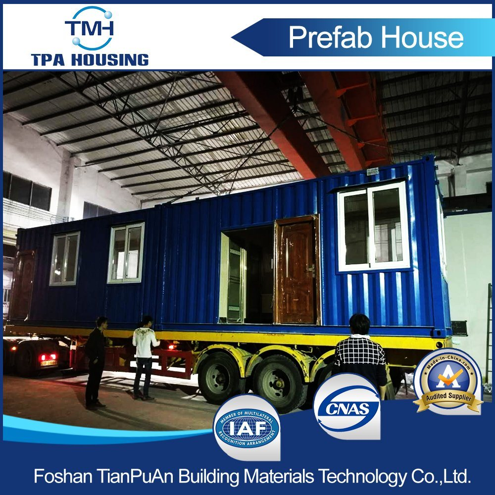 Prefabricated Modern Design Steel 20FT Container Home in Hong Kong