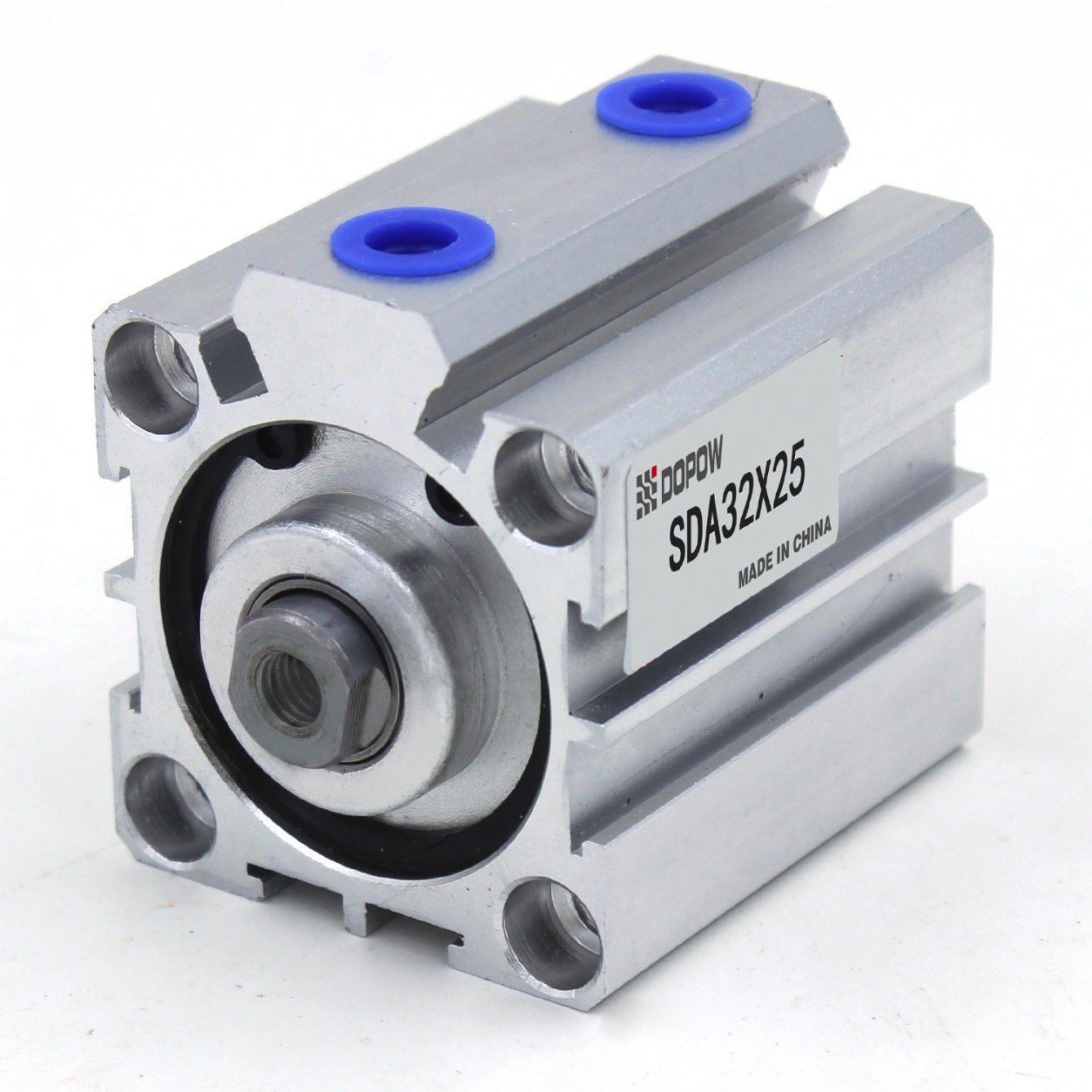 Dopow Sda32-25 Compact Pneumatic Cylinder