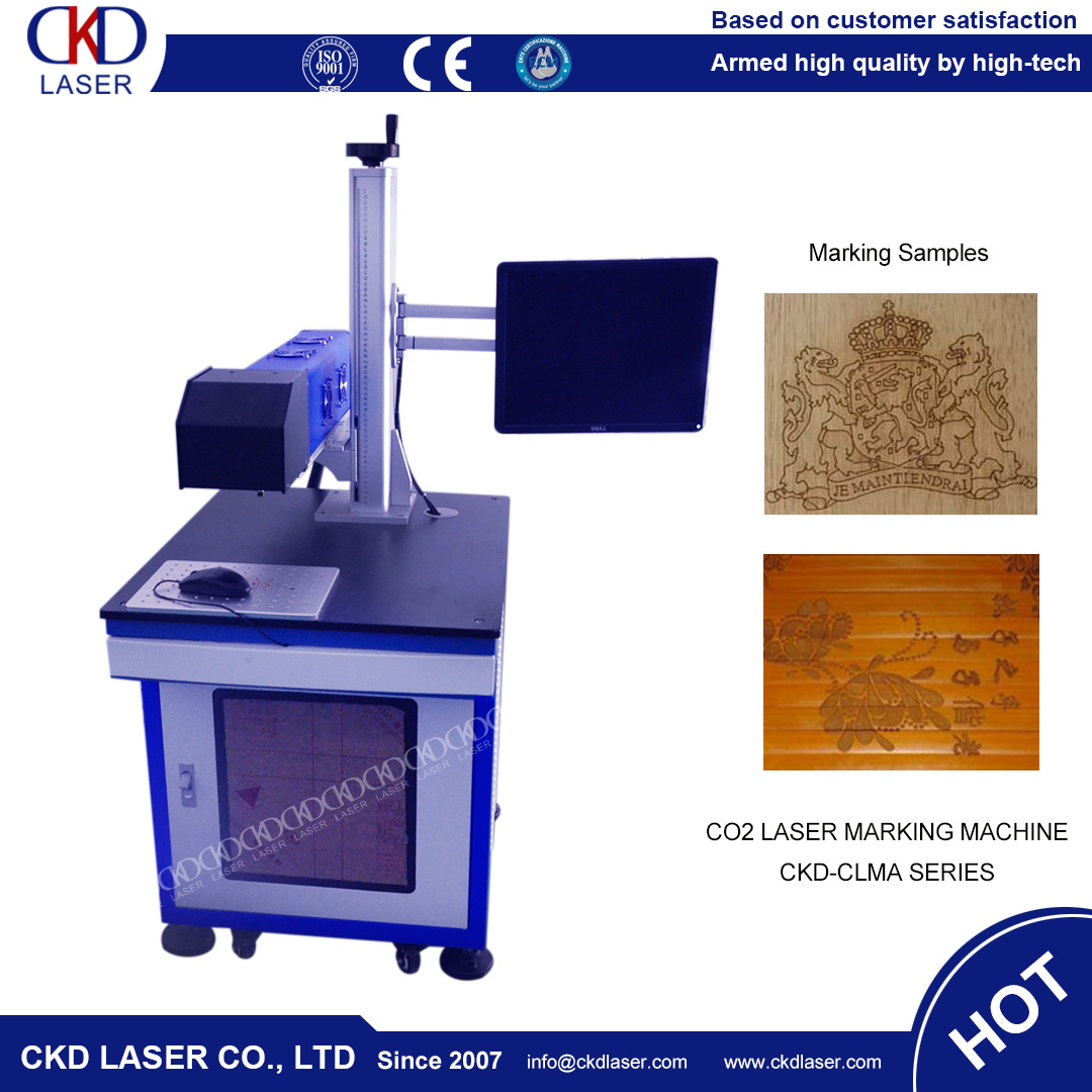 CO2 Laser Marking Engraving Machine for Paper Leather Plastics