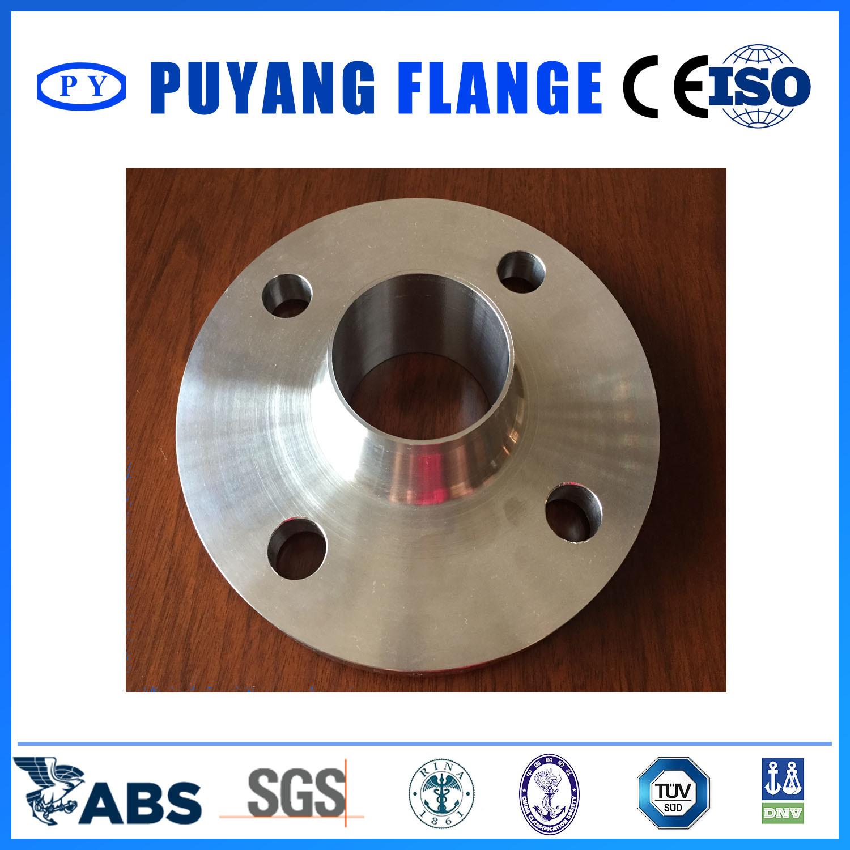 DIN Standard Stainless Steel Weld Neck Flange (PY00104)