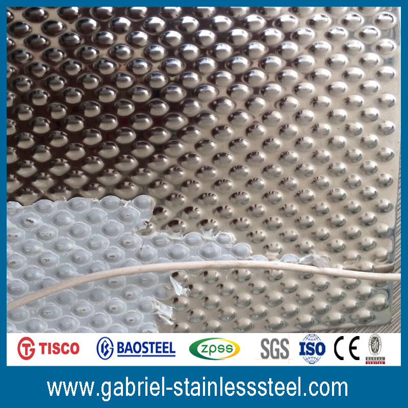 AISI 201 6mm Stainless Steel Checkered Plate