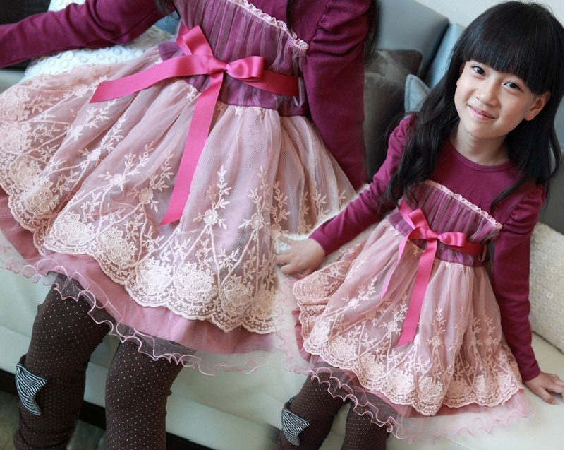 Baby dresses for girls baby dress - Princess dress for baby girls lace dress baby girl dress