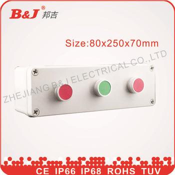 Plastic Waterproof Button Box 80X250X70mm IP68