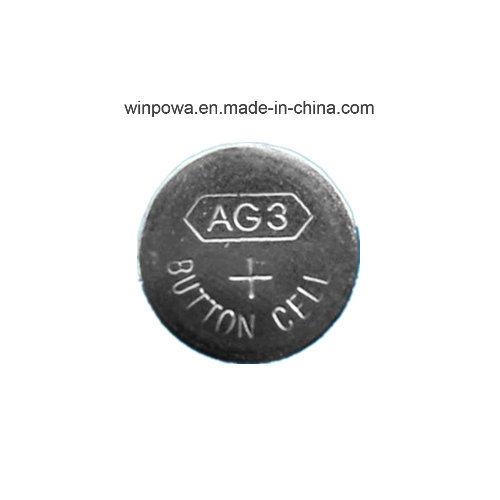 0%Hg Pb 1.5V Alkaline Button Cell Battery (AG3/LR41)