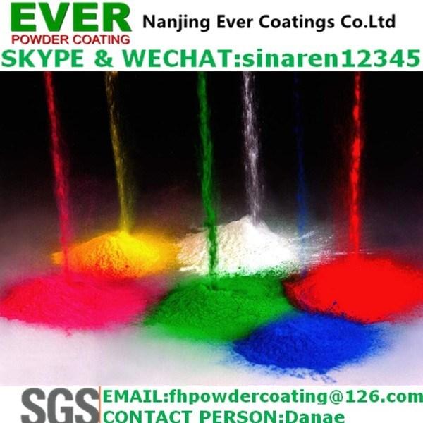 White Ral9016 Powder Coating Electrostatic Spray