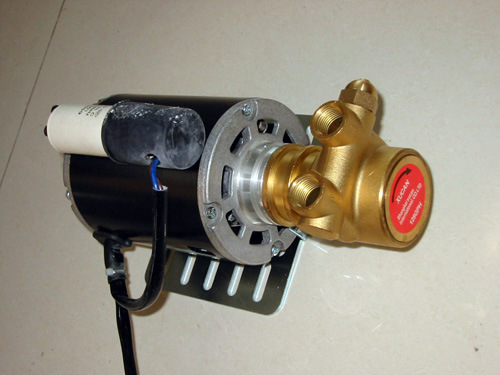 China Vane Pump With Motor For Ro Water Treatment Coffee