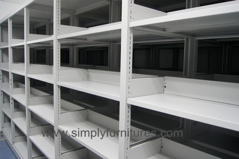 Mobile Racks, Mobile Compactors Storage System (T4B-04S)