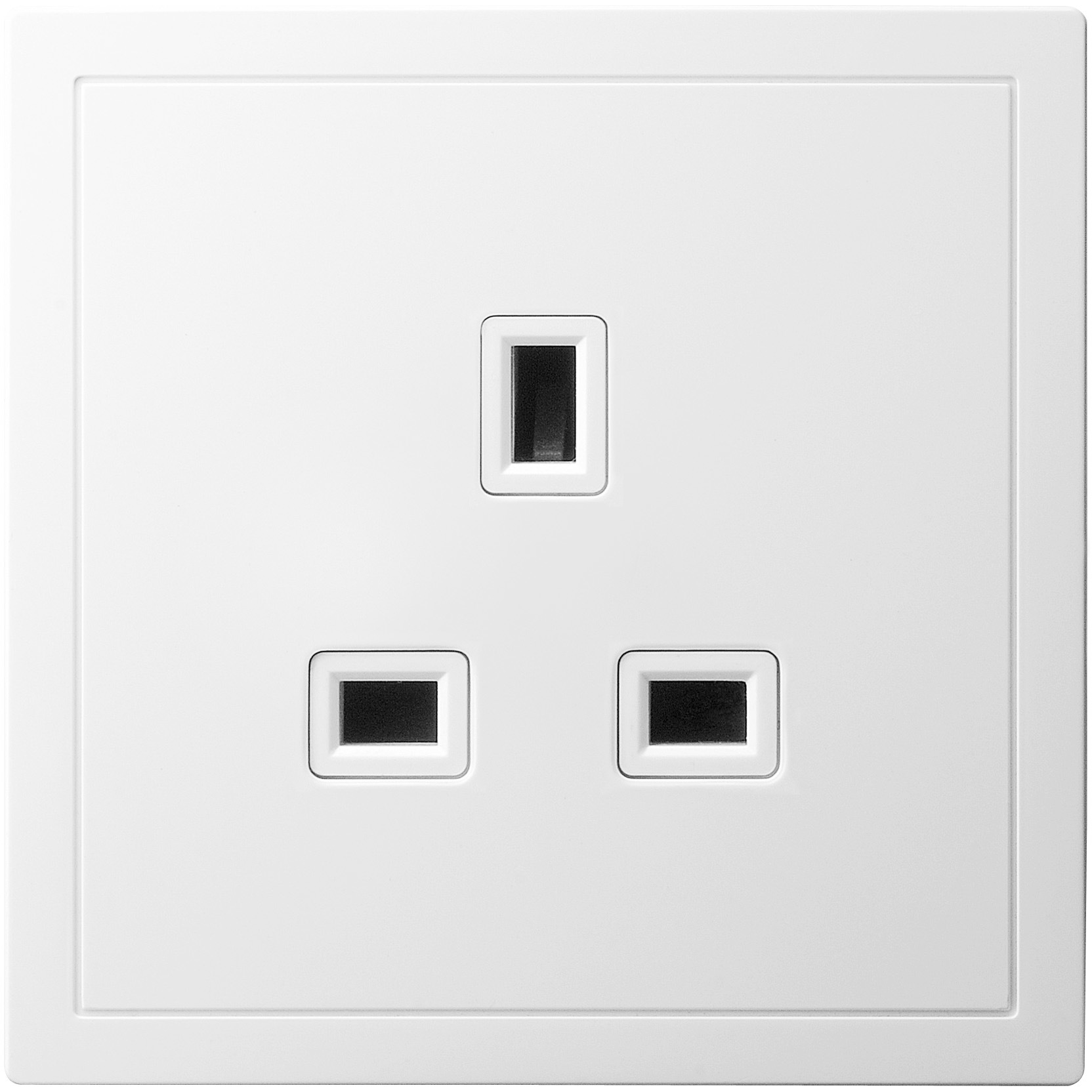 13A 1 Gang Socket Outlet