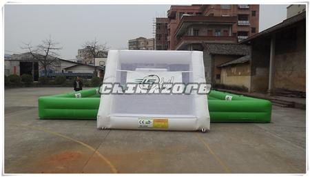 New Created Bubble Soccer Field Inflatable Bubble Football Pitch
