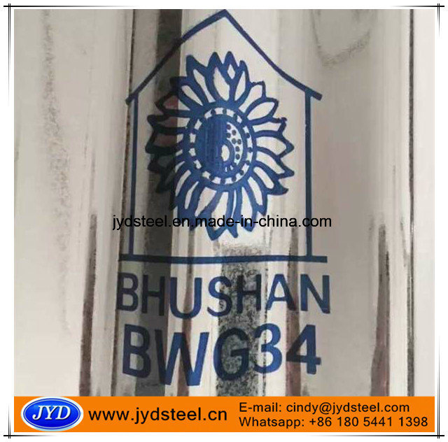 Bwg34 Bhushan Galvanized Corrugated Steel Sheet