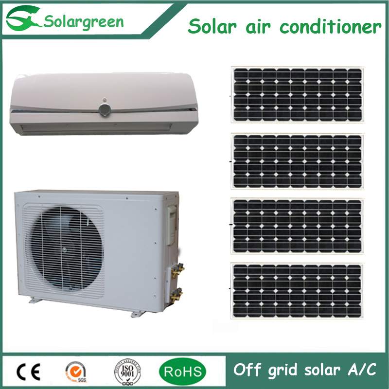 9000BTU Solar Panel Air Conditioning with Ce, CB, RoHS Certificate