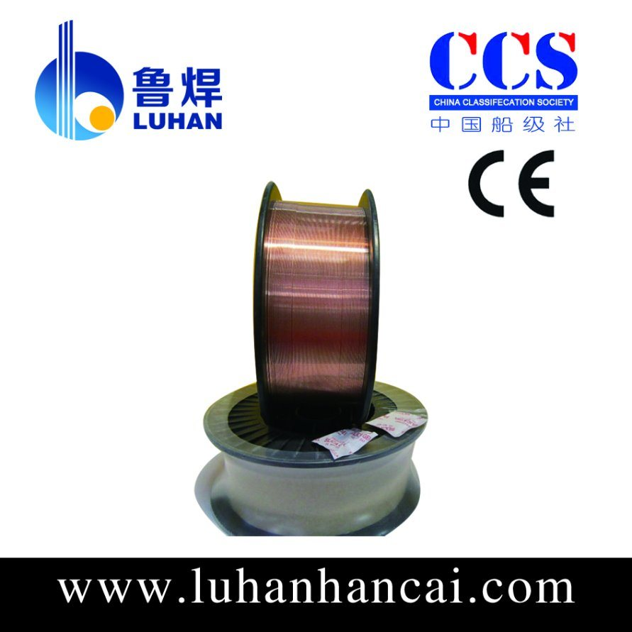 CO2 Shielded MIG Wire for Welding 0.8mm (ER70S-6) with Ce