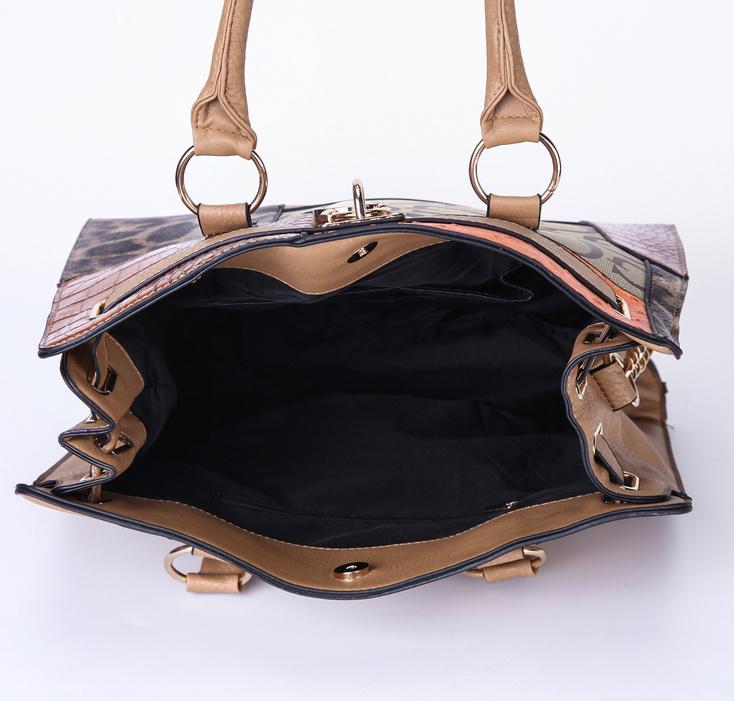 Yiwu Women PU Leather Cheap Tote Handbag