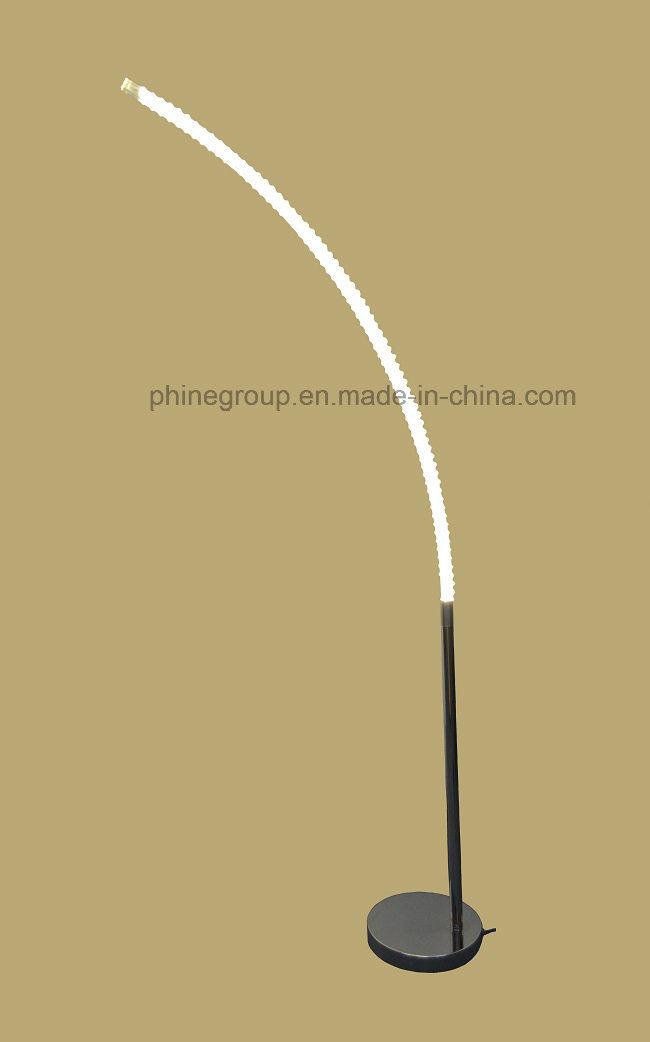 Phine LED Floor Lighting Metal Body with Glass Tube
