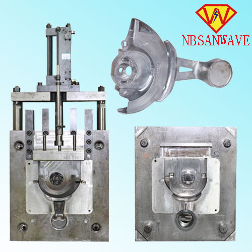 Aluminum Die-Casting Parts of Auto Steering Gear (SW300M)