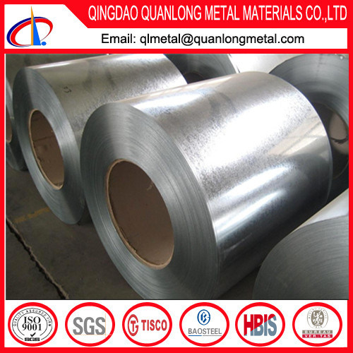 Zinc Coated Metal Gi Galvanized Steel Coil