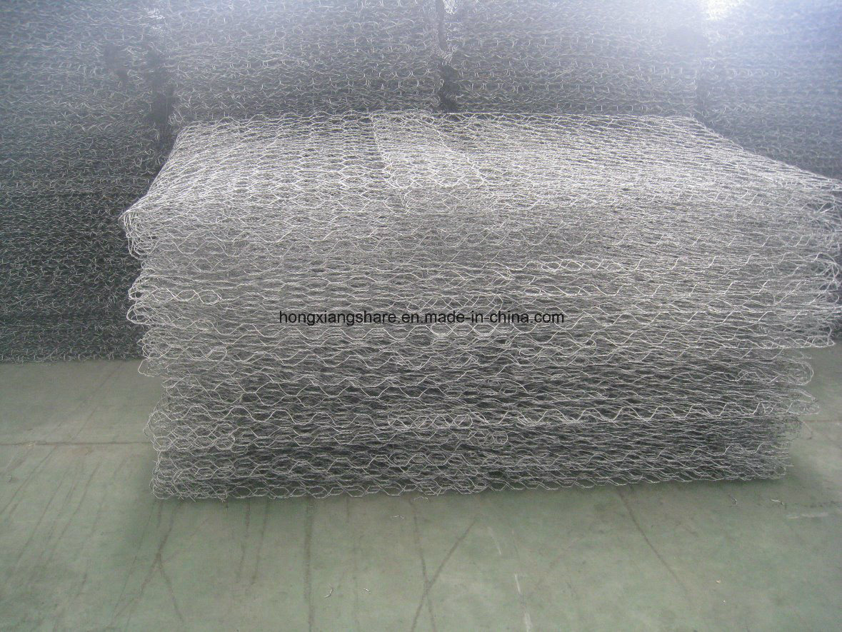 Gabion Wire Mesh PVC Coated with Hot Dipped Gavlanized