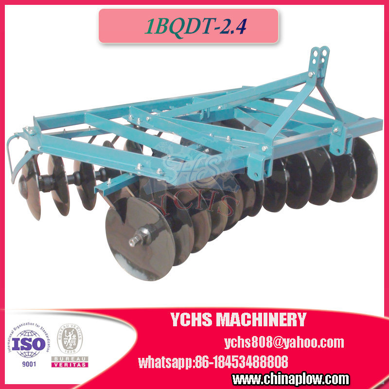 Farm Tilling Machine Mounted 80HP Yto Tractor