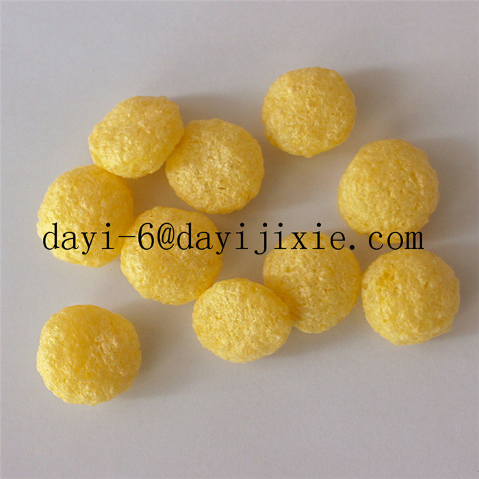Cheese Puffs Snacks Machine/Cheese Flavor Puffed Snacks Process Line