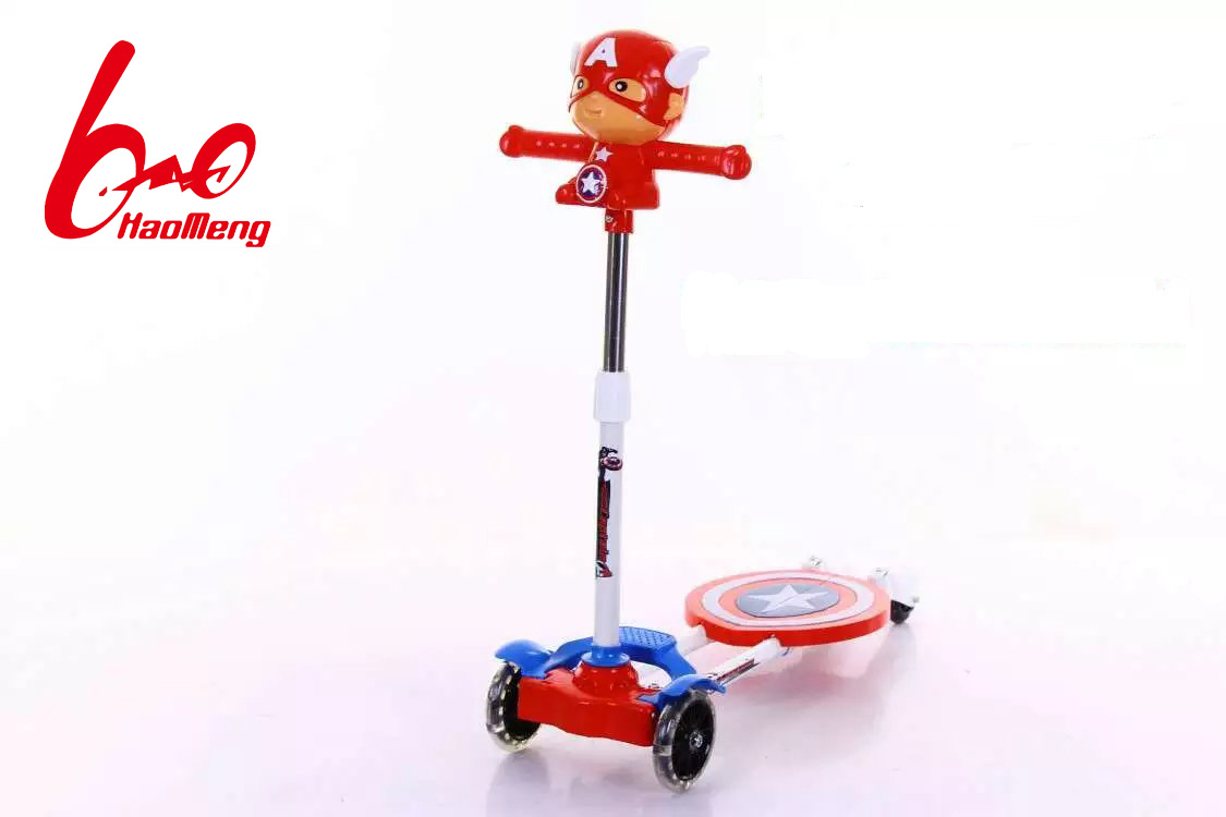 Captain America Kids Scooter for Boys