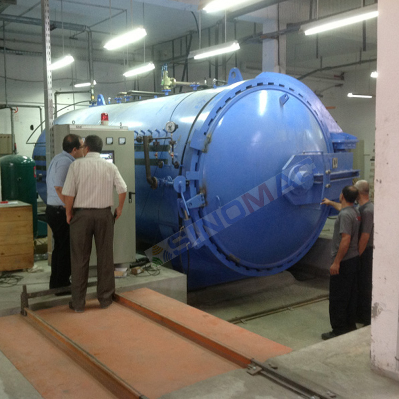 2650X5000mm Ce Approved PVB Laminated Glass Autoclave (SN-BGF2650)