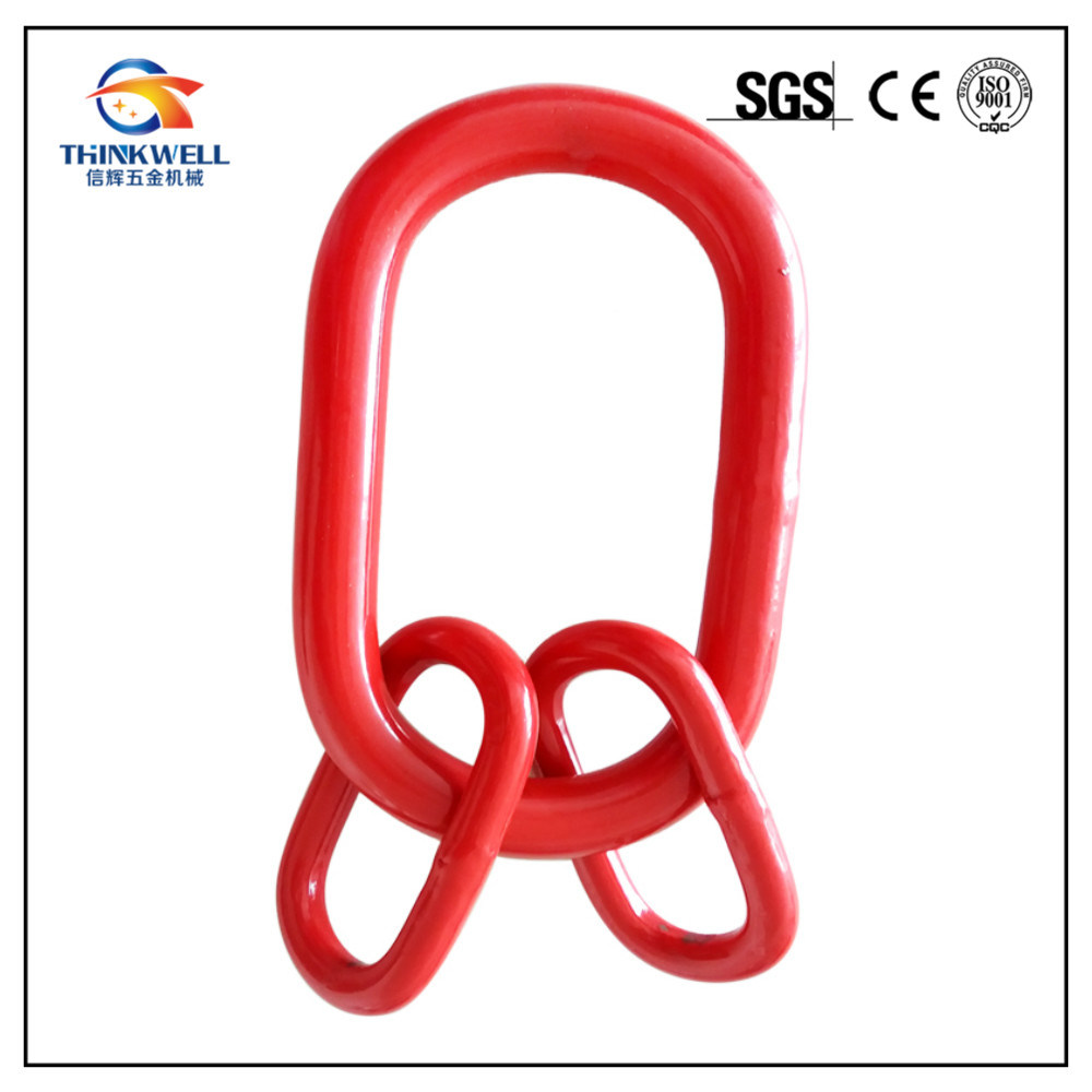 Forged Alloy Steel Engineered Flat Master Link Assembly
