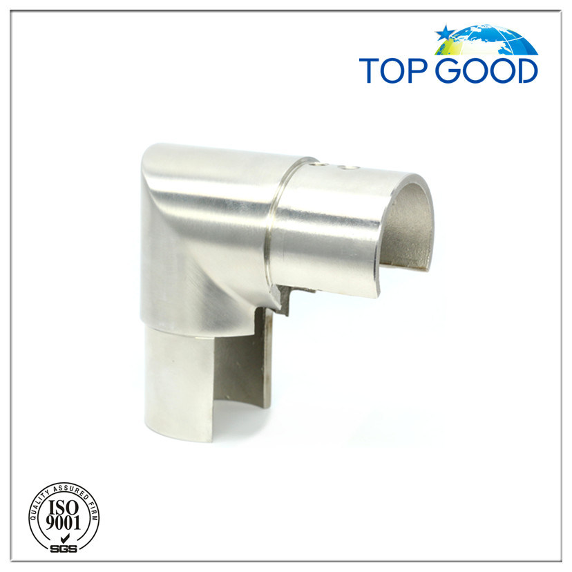 Top Good Stainless Steel for Slot Tube Vertical Connector (53110)