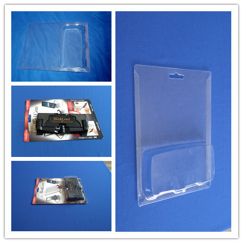 Sliding Blister Packing Clear Card Insert Blister Packing