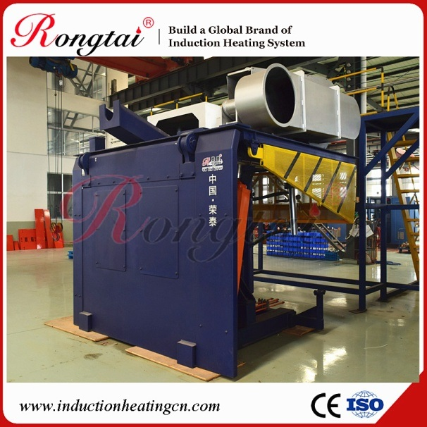 0.75t Medium Frequency Induction Steel Melting Furnace