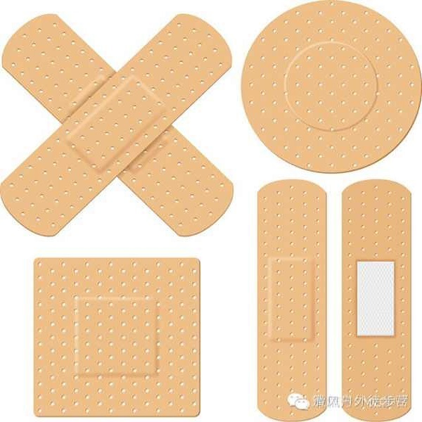 Medical PE PVC Cotton Adhesive Band Aid for Wound Care