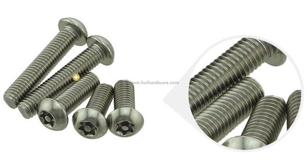 Torx Socket Button Head Safety Screws Security Screws